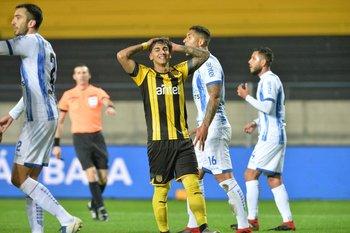 Facundo Torres tras fallar la primera chance