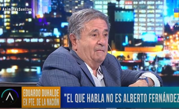 Expresidente argentino Eduardo Duhalde