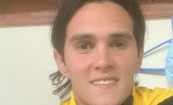 La foto que subió Ruben Bentancourt con la indumentaria de Peñarol