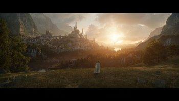 La primera imagen oficial de la serie de El Señor de los Anillos