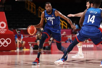 Kevin Durant, 29 puntos