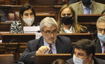 El subsecretario de Economía, Alejandro Irastorza, encabezó la delegación del MEF.
