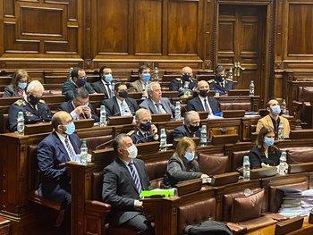 Heber se reunió con diputados de la Coalición