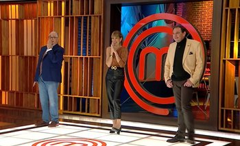 El jurado de MasterChef durante el primer programa de MasterChef Celebrity 2