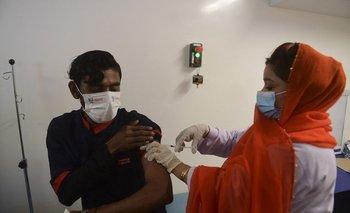 Vacunatorio pakistaní