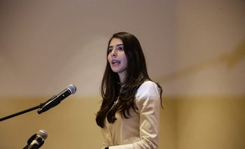 Berenice Quezada, candidata a la vicepresidencia del país