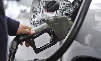 Los combustibles aumentaron en agosto.