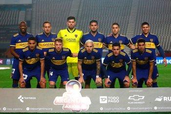 El equipo de Boca Juniors