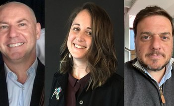 Alberto Mello, Paola Rapetti y Mauro Sacco