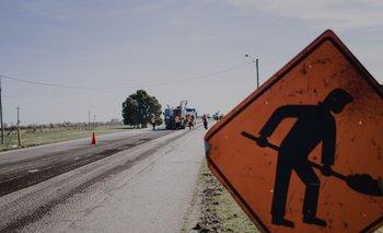 Reparación en ruta nacional. (Foto archivo)