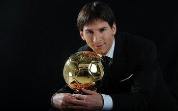 El primer balón de oro de Messi