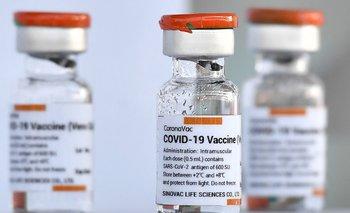 La vacuna Coronavac fue desarrollada en China, por el laboratorio Sinovac