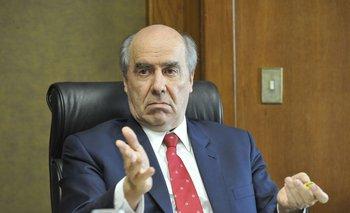 El presidente del Banco de Seguros del Estado, José Amorín Batlle.