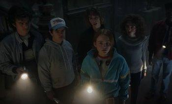Una de las nuevas imágenes de la cuarta temporada de Stranger Things