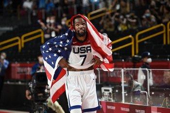 Kevin Durant, figura con 29 puntos