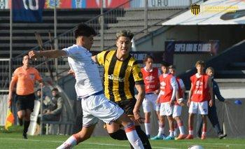 Peñarol le ganó el clásico de sub 19 a Nacional jugado este sábado en el Charrúa