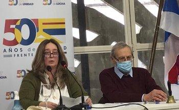 María Jossé Rodríguez y Ricardo Ehrlich