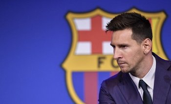 Messi llegó al club español con 13 años