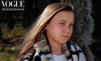 Greta Thunberg en la portada de Vogue Scandinavia