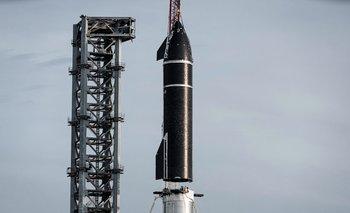 El cohete más alto del mundo.