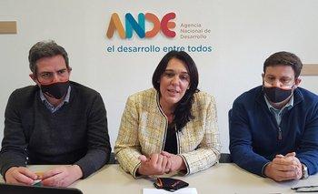 La Agencia Nacional de Desarrollo (ANDE) lanzó este martes el programaSOS Pymes