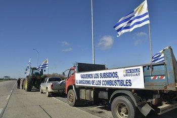 Este martes Un Solo Uruguay se manifestó en Florida.