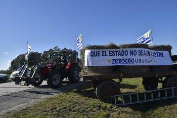 Un solo Uruguay volvió a las rutas