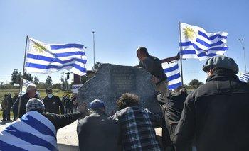 USU se movilizó en San José en la primera protesta contra el gobierno.