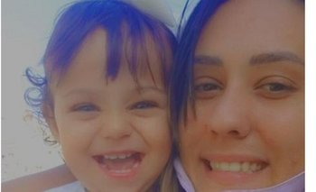 Roció con su bebé de un año. De 22 años, fue detenida