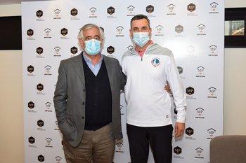 Santiago Fernández y Diego Pérez