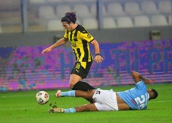 Agustín Canobbio contra Sporting Cristal