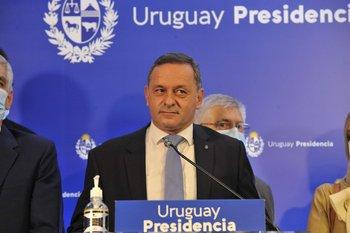 Álvaro Delgado encabezó reunión de la coalición de gobierno