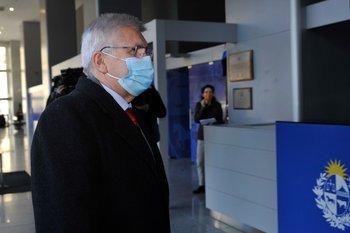 Viera se reunió en la tarde de este lunes con el presidente Luis Lacalle en Torre Ejecutiva