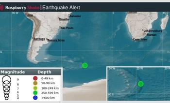 Tsunami al sur del Atlántico