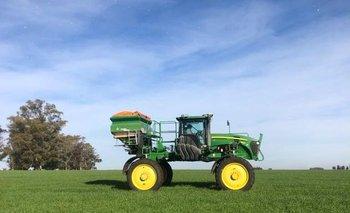 MegaAgro utiliza tecnología de fertilización variable y mezclas de fertilizantes a medida para cada chacra.