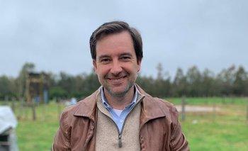 Ignacio Russi, presidente de la Sociedad Rural de Durazno.