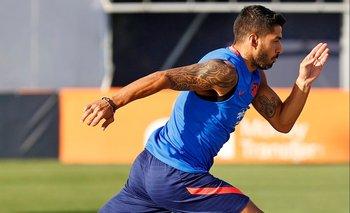Luis Suárez se pone en forma