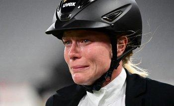 Las lágrimas de Annika Schleu