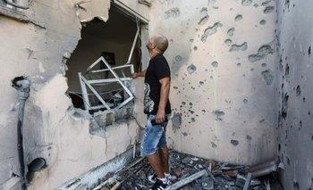 """""""Lanzar esta clase de cohetes a una zona de civiles es un crimen de guerra"""", concluyó el informe"""