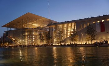 Sede de la Biblioteca y la Ópera griegas