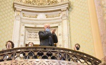 La Asamblea General homenajeó al contador Enrique Iglesias el pasado miércoles