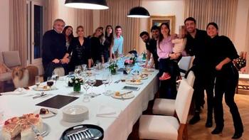 La primera dama celebró su cumpleaños en 2020 cuando en Argentina aún estaba declarada la cuarentena obligatoria