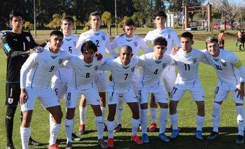 La selección sub 17 de Uruguay para el Torneo de L