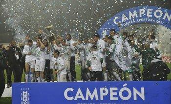 Plaza Colonia campeón del Apertura 2021