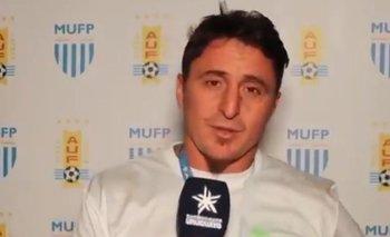 """Cristian """"Cebolla"""" Rodríguez en declaraciones a AUF TV tras ganar el título del Apertura 2021 con Plaza Colonia"""