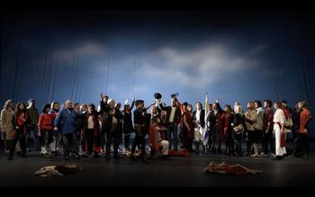 33 artistas subieron al escenario para darle cierre al proyecto