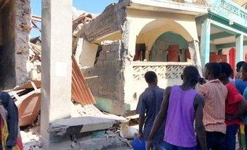 Haití está en una zona donde pueden ocurrir permanentemente desastres naturales