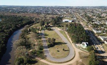 Parque Zelmar Michelini a las afueras de la ciudad de Rocha