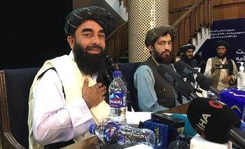 Zabihullah Mujahid es el portavoz de los talibanes.