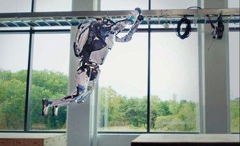 Los robots de Boston Dynamics hacen parkour